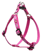 Lupine pink argly dog harness