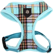 Plaid Puppia Harness
