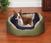 Cozy Clamshell Dog Bed