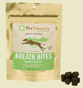 Natural Bad Dog Breath Bites