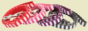 Cotton Striped Dog Leash